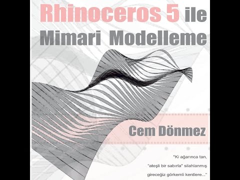 Rhinoceros 5 ile Mimari Modelleme