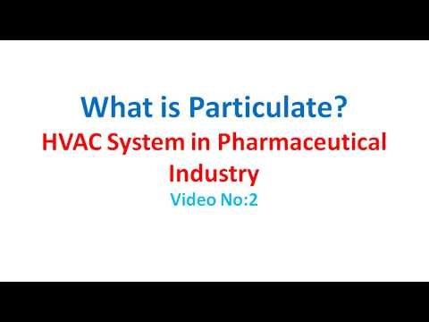 HVAC System of Pharmaceutical Industry in  English (Video No-2)