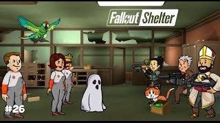 ВОПЛЬ БАНШИ ТАЙНА ПРИЗРАКА И ВЫСОТКА ВОЛТ-ТЕК - Fallout Shelter 26