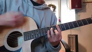 세븐틴(Seventeen) - 고맙다(Thank u) Acoustic Guitar Cover 기타커버 코드