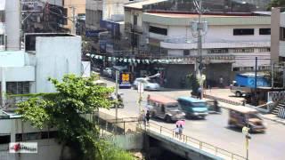 Dagupan City Philippines, Pantal Bridge Traffic