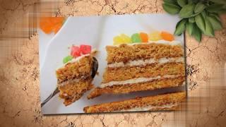 Готовим Морковный торт. Полезный рецкпт. Подойдет к любому столу.