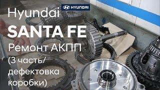 Ремонт коробки передач на Hyundai SANTA FE (3 часть)