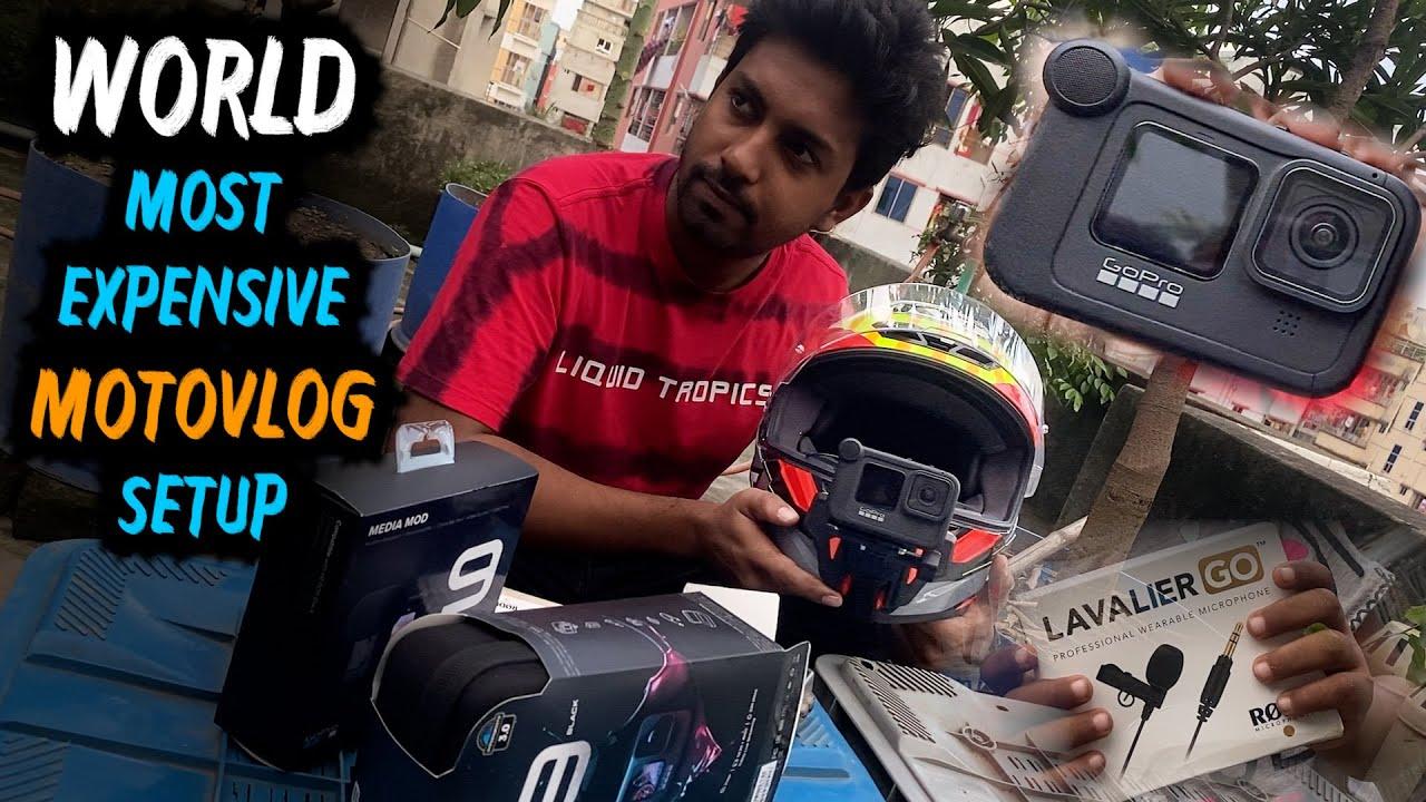 Professional Motovlog Setup | GoPro Hero 9 | Media Mod | Rode Lavalier Go