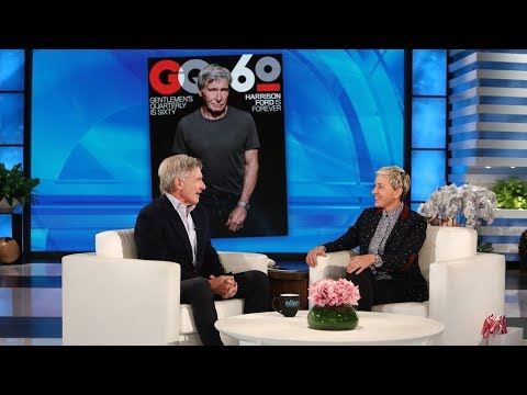 Harrison Ford Talks Flying and Fitness with Ellen