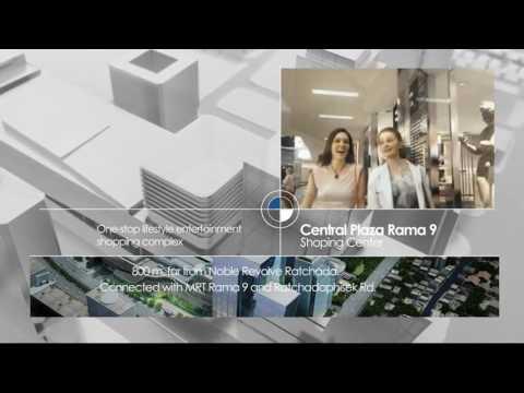 泰旺群鴻國際地產 Nobel Revolve 2  建案(Ratchada The New CBD Video)