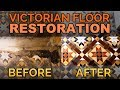 Victorian Floor Tiles - Full Victorian Tile Restoration of a Victorian Tiled Floor in Newport