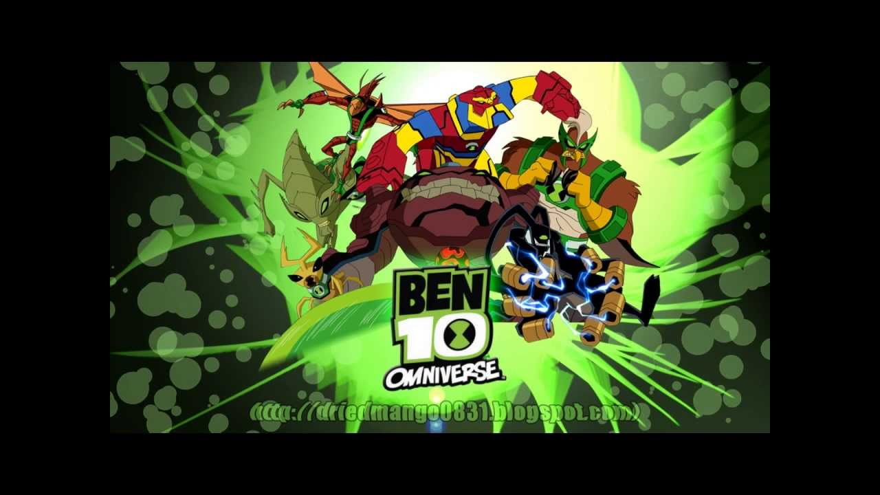 My ben 10 omniverse fan made wallpapers youtube voltagebd Choice Image