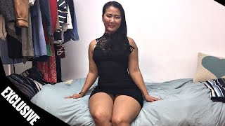 Curves with Asian women