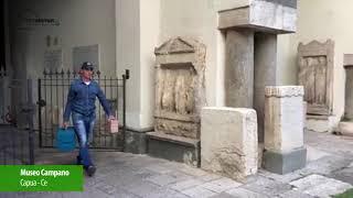 Sanadomus: installazione al MUSEO di Capua