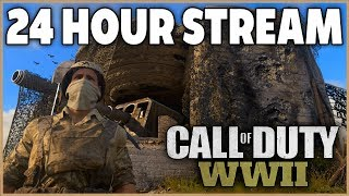 27 Hour Call of Duty: WWII Stream +1 Hour @ 96,010 subs thumbnail