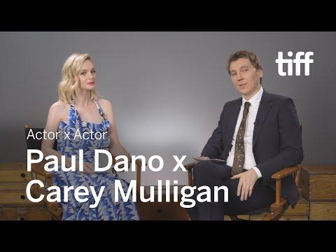 Carey Mulligan x Paul Dano   Actor x Actor Conversation  TIFF 2018