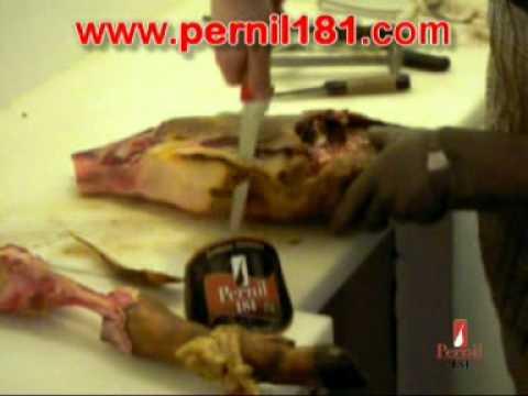 Comment d sosser un jambon espagnol ib rique pata negra bellota pernil181 youtube - Comment couper un jambon iberique ...