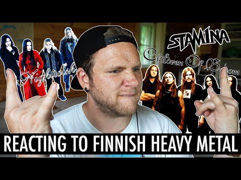 REACTING TO FINNISH MUSIC VIDEOS: HEAVY METAL EDITION