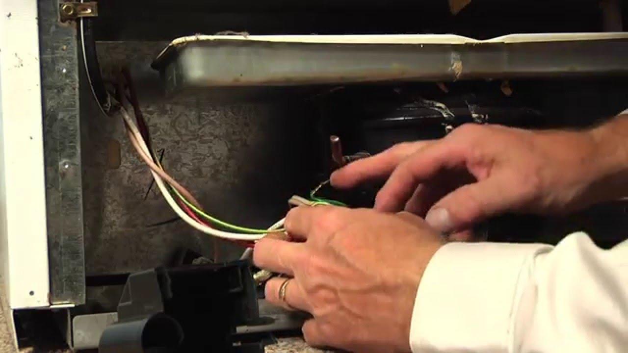 medium resolution of refrigerator repair replacing the start relay whirlpool part 2262185 youtube