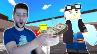 BUYING DANTDM!! YOUTUBE TYCOON - Roblox (Part 1)