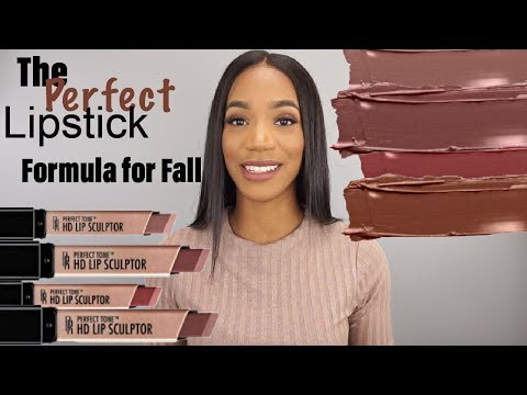 perfect-lipstick-formula-for-fall-&-winter!!|drugstore-lipstick-swatches|-black-radiance