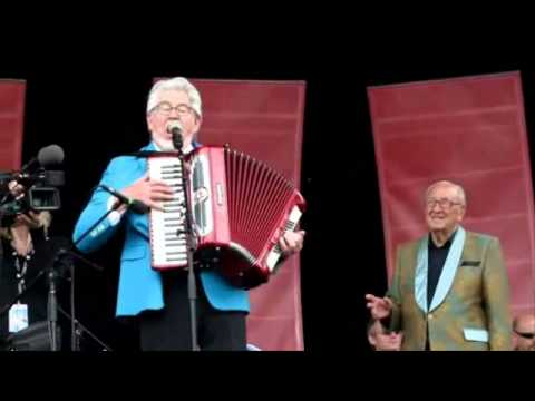 Rolf Harris & Dal Richards Hilarious Vancouver Town at PNE 2010