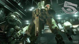 Танки, роботы, мяско! Включить защиту корабля! Halo 4 #5 XBOXONE 1080p60