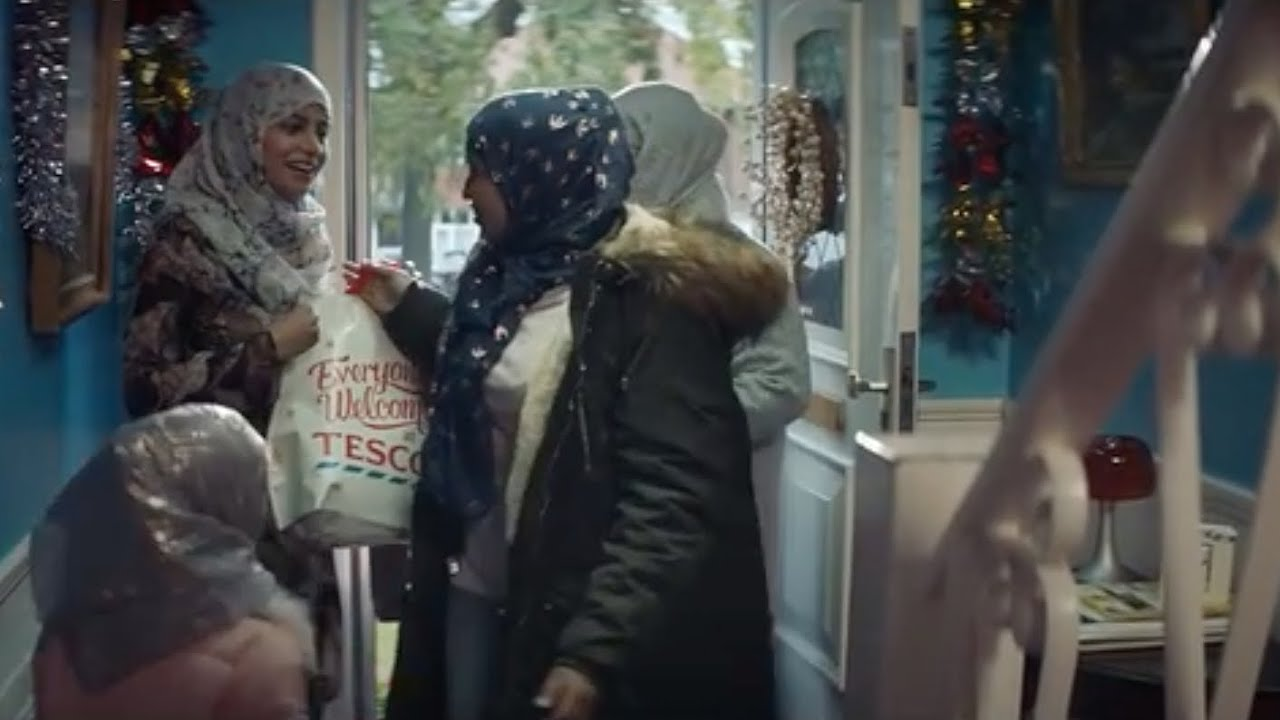 Tesco Christmas Advert 2019 Threats to boycott Tesco after Muslim family features in Christmas