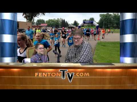 Five Minutes of Fame in Fenton (S3:E01) - Holly Academy 5k with Isabella Vincil  - FentonTV.com