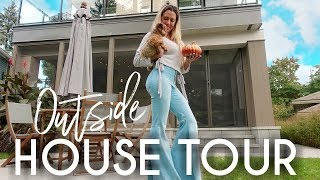 Outside House Tour - Ready for Fall
