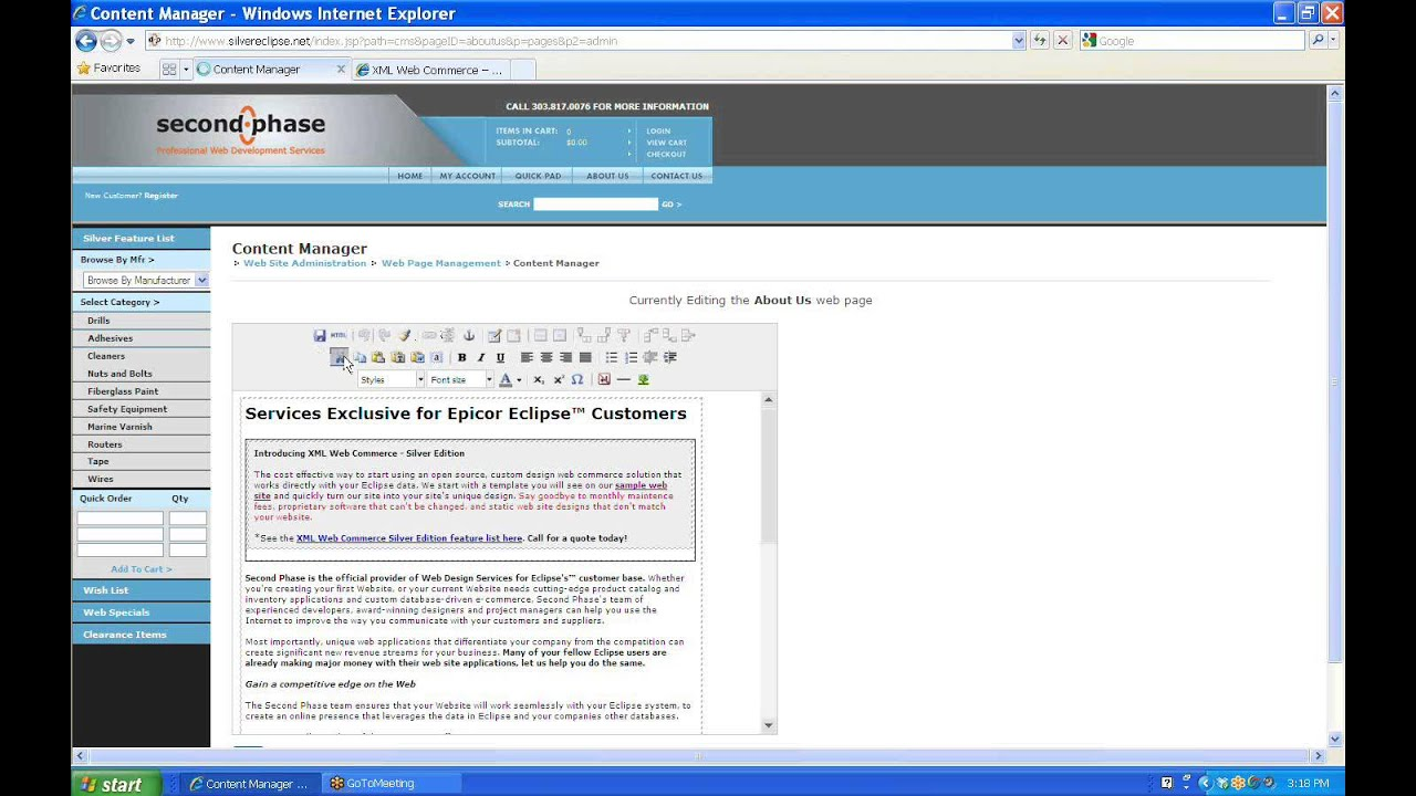 Content Management Software Demo Youtube