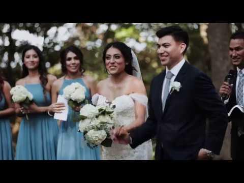 Jezzeka & Marco Wedding Highlight - Chandler's Gardens - McKinney TX