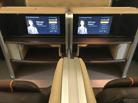 Singapore Airlines New First Class Boeing 777 300er, Copenhagen to Singapore