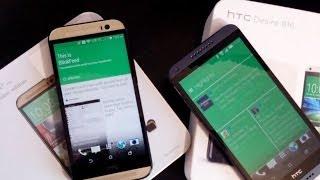 HTC Desire 816 versus HTC One M8