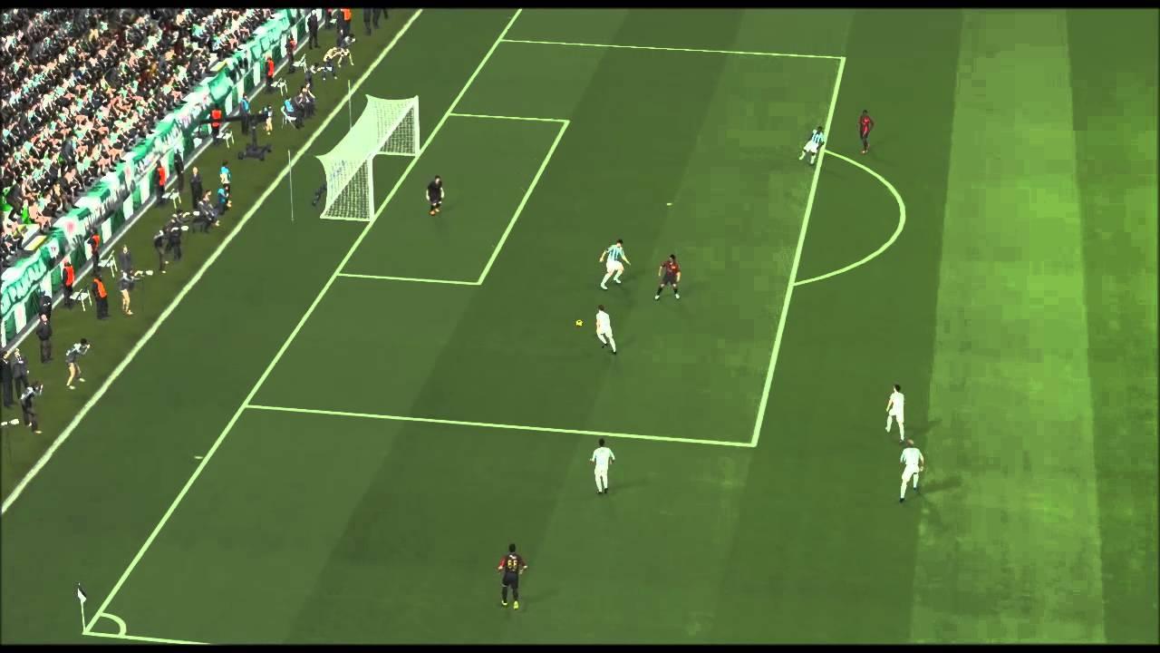 PES 14 İlginç Gol 3