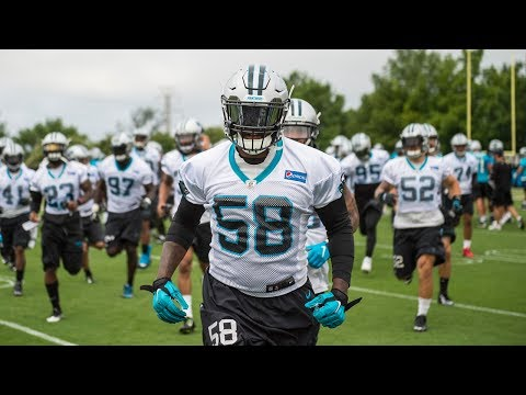 Panthers OTAs Day Two