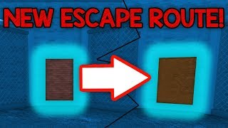 THERE'S A NEW ESCAPE ROUTE IN ROBLOX JAILBREAK!!