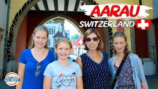 Aarau Switzerland - Birthplace of Frey Chocolate & The Habsburg Empire | 90+ Countries With 3 Kids