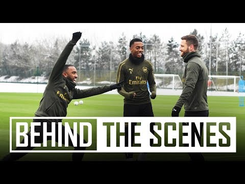 VAR at training?! | Behind the scenes at Arsenal training centre