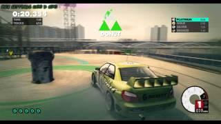 DIRT 3 PC GAMEPLAY MAX SETTINGS Gymkhana Sprint