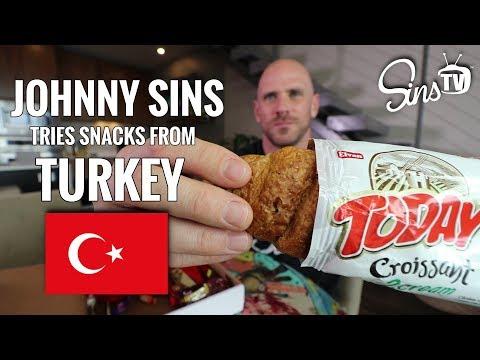 Tasting Snacks from Turkey || Johnny Sins Vlog # 63 || SinsTV
