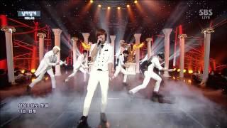 MBLAQ Be a Man Live Inkigayo Mp3