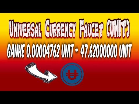 Universal Currency Faucet (UNIT) - Bitcoin Login