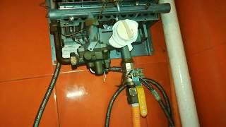 видео Очистка от накипи теплообменника газового котла или колонки
