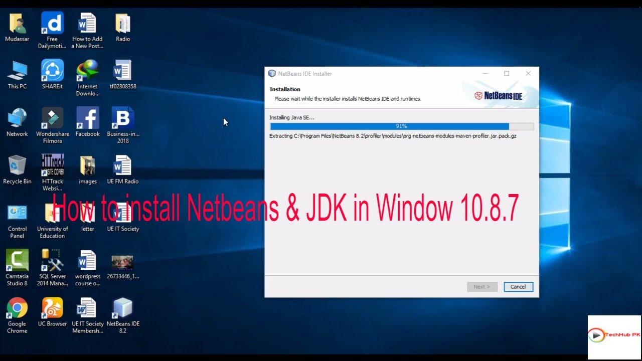 download netbeans 8.1 for windows 10 32 bit
