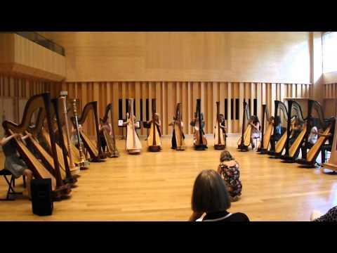 Halo, Beyonce Harp Ensemble Cover