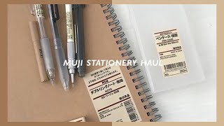 muji stationery haul (w demos)