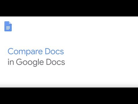 How To: Compare Documents in Google Docs