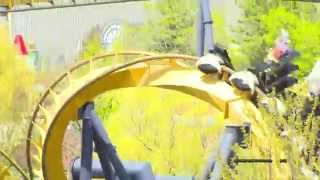 BATMAN The Ride Backwards - Six Flags Great Adventure