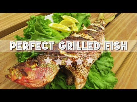 How To Grill A Whole Fish | Cooking Snapper On The BBQ