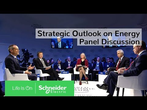 Strategic Outlook on Energy: Panel at the Davos World Economic Forum | Schneider Electric