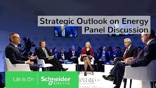 Gambar cover Strategic Outlook on Energy: Panel at the Davos World Economic Forum | Schneider Electric