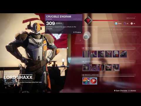 Destiny 2 Get Crucible Tokens from Dawning Gift