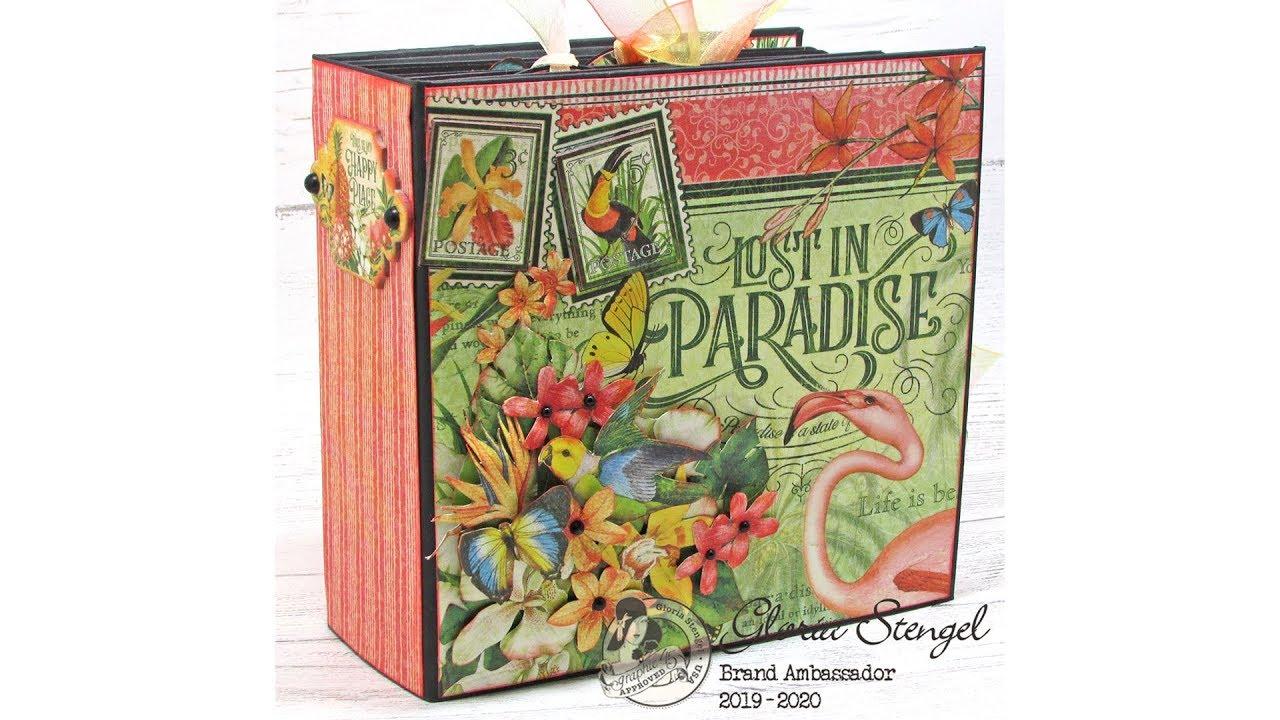 Lost in Paradise Album Graphic 45